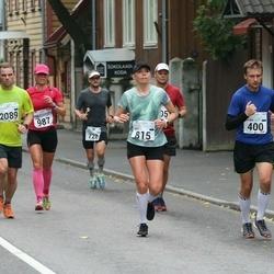 SEB Tallinna Maraton - Silver Nuga (400), Bret Schär (815), Linda Holmer (987), Steven Singleton (2089)