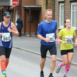 SEB Tallinna Maraton - Kaarel Tõruvere (883), Karmen Lepp (906)