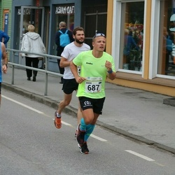 SEB Tallinna Maraton - Andre Kaaver (687), Urmo Rae (3177)