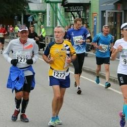 SEB Tallinna Maraton - Laura Huik (984), Jean-Michel Dusseau (1275), André Letessier (1277)