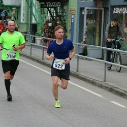 SEB Tallinna Maraton - Artur Retsnik (522), Marko Pruus (3169)