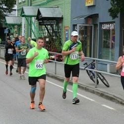 SEB Tallinna Maraton - Aleksei Putrolainen (663), Heigo Paide (1110)