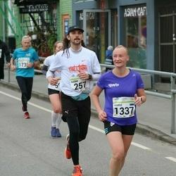 SEB Tallinna Maraton - Björn Lapakko (257), Marge Põder (1337)