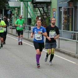 SEB Tallinna Maraton - Mati Teinberg (1272), Anna Mölsä (1987)
