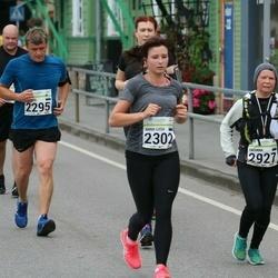 SEB Tallinna Maraton - Anna-Liisa Pärnalaas (2302), Tatiana Tolstaya (2927)