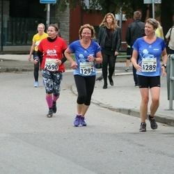 SEB Tallinna Maraton - Tomma Hangen (1289), Agnes Voges (1292), Hannele Vertainen (2690)