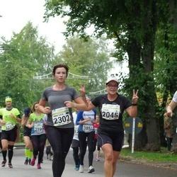 SEB Tallinna Maraton - Tuula Viheroja (2045), Anna-Liisa Pärnalaas (2302)