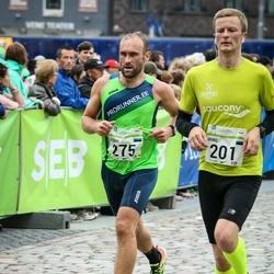 SEB Tallinna Maraton - Arno Raadom (201), Björn Puna (275)