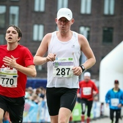 SEB Tallinna Maraton - Andi Vallik (287), Joosep Näks (770)