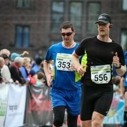 SEB Tallinna Maraton - Roman Beljakov (353), Aarne Vasarik (556)