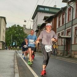 SEB Tallinna Maraton - Alex Beernaerd (509), Marek Mustonen (674)