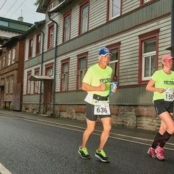 SEB Tallinna Maraton - Benoit Rancourt (636), Eneli Pall (1509)
