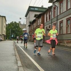 SEB Tallinna Maraton - Anneliis Vallimäe (1613), Rene Vallimäe (2096)