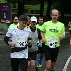 SEB Tallinna Maraton - Raido Sune (1597), Andras Gelencser (1968)