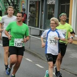 SEB Tallinna Maraton - Birgi Putkonen (376), Eric Haecker (1029)