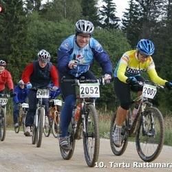 10. Tartu Rattamaraton - Kristel Akerman (2001), Jüri Meinvald (2052), Annika Sepp (2401)