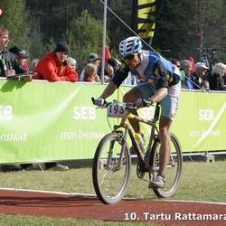 10. Tartu Rattamaraton - Aarne Tiit (193)