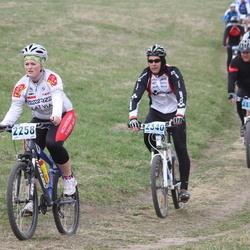 13. Mulgi Rattamaraton - Amanda Väiko (2258), Teele Vaarak (2286), Günther Veidenberg (2340)