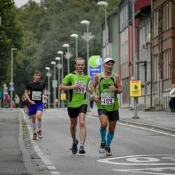 SEB Tallinna Maraton - Peeter Kand (159), Christian Gunnarsson (190)