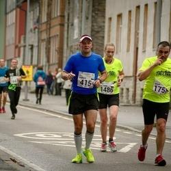 SEB Tallinna Maraton - Gunnar Eensoo (415), Nataliia Ugarova (1486), Brian Sepp (1758)