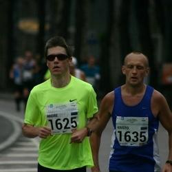 SEB Tallinna Maraton - Andre Lomaka (1625), Kristo Kokk (1635)