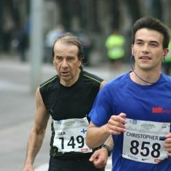 SEB Tallinna Maraton - Jukka Kohtaniemi (149), Christopher Raastad (858)