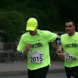 SEB Tallinna Maraton - Brian Sepp (1758), Riigo Kärner (2015)