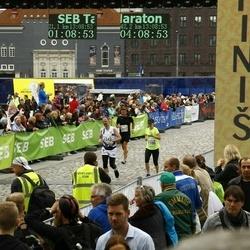 SEB Tallinna Maraton - Caisa-Merili Mõik (1106), Sampsa Laakso (1542), Iikka Iskanius (2073)
