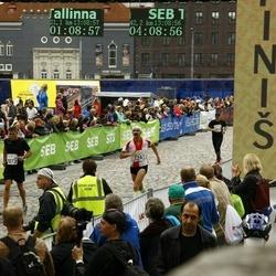 SEB Tallinna Maraton - Arkadiusz Osiak (1241), Iikka Iskanius (2073)