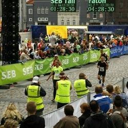 SEB Tallinna Maraton - Adrian Bolam (789), Karoliina Kägo (1629)