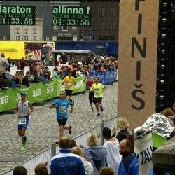 SEB Tallinna Maraton - Anatoliy Andreev (266), James Lloyd (494), Kardon Kõiv (1349), Kristjan Kongo (2374)