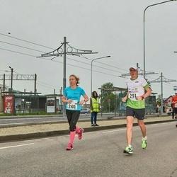 SEB Tallinna Maraton - Annika Vaher (240), Karl Kaljumäe (291)