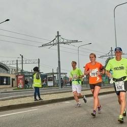 SEB Tallinna Maraton - Benoit Rancourt (636), Liis Uusküla (701)