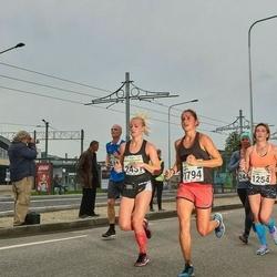 SEB Tallinna Maraton - Polina Myslyaeva (1254), Andra Mõistus (1794), Katrena Tenno (2437)