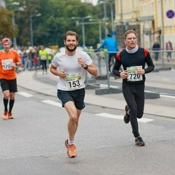 SEB Tallinna Maraton - Aleksejs Kolpakovs (153), Kristjan Roosild (720)