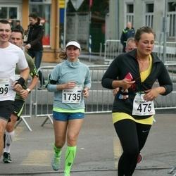 SEB Tallinna Maraton - Bettina Laine (475), Jevgenia Mullari (1735), Sergei Staško (1799)