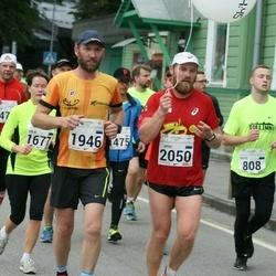SEB Tallinna Maraton - Alar Siemann (1946), Aare Huik (2050)