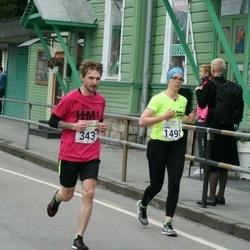 SEB Tallinna Maraton - Vitalii Rabtsevich (343), Anna Tuomisto (1497)