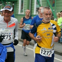 SEB Tallinna Maraton - Jean-Michel Dusseau (1275), André Letessier (1277)