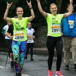 SEB Tallinna Maratoni Sügisjooks 10 km - Hanna-Maria Kahju (2890), Julia Marudenko (2891)