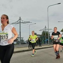 SEB Tallinna Maraton - Laura Leppänen (763), Age Veemees (1219)