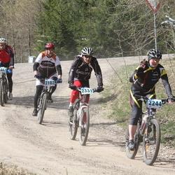 13. Mulgi Rattamaraton - Arne Kaasik (2182), Anne Miljan (2244), Fredi Skobelev (2331), Karel Karro (2467)