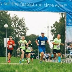 SEB Tallinna Maraton - Martin Maasik (128), Andre Kaaver (687), Svetlana Kriukova (946)