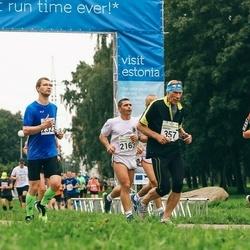 SEB Tallinna Maraton - Anatoli Šuvalov (357), Jürgen-Martin Assafrei (437), Gabriel Bondar (2163)