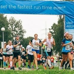 SEB Tallinna Maraton - Berit Kondas (1267), Sanita Elste (1817), Tõnu Kask (3112)