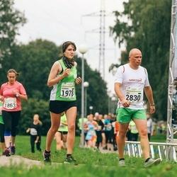 SEB Tallinna Maraton - Kseniia Mamich (1978), Ago Siidok (2830)