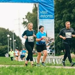 SEB Tallinna Maraton - Anna Perevertova (1141), Kristel Feldmann (2769), Markus Päivinen (2774)