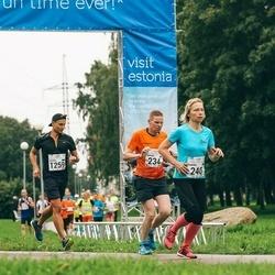 SEB Tallinna Maraton - Jarkko Männistö (234), Annika Vaher (240), Kristo Vardja (1259)