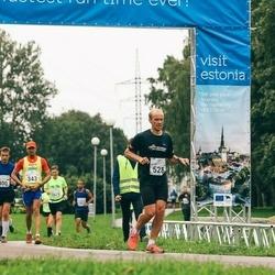 SEB Tallinna Maraton - Vinod Menon (343), Peter Blomster (528), Bret Schär (815)