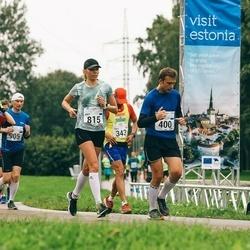 SEB Tallinna Maraton - Silver Nuga (400), Peter Buhr (768), Bret Schär (815), Raivo Kaegas (905)